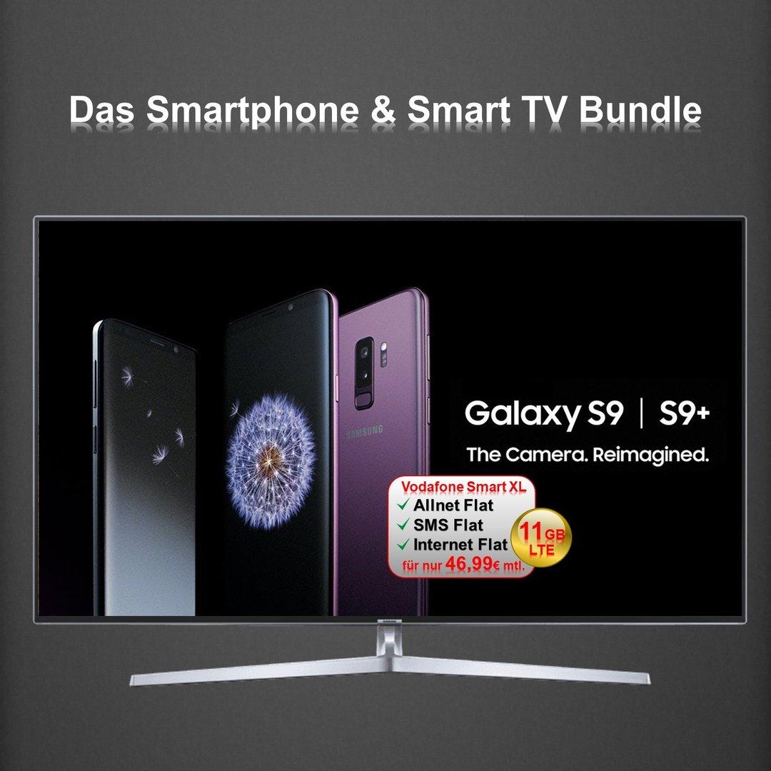 smartphone smart tv 49 zoll curved led bundle fonebook. Black Bedroom Furniture Sets. Home Design Ideas